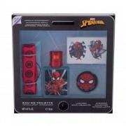Marvel Spiderman zestaw EDT 30 ml + naklejki + breloczek + uchwyt na telefon dla dzieci