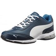 Puma Men's Roadstar Xt II Dp Blue Wing Teal, Puma Silver and Blue Heaven Running Shoes - 9 UK/India (43 EU)