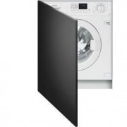 Smeg 60cm Integrated Washer Dryer, Ice-White - LSTA147S