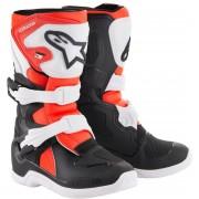 Alpinestars Tech 3S Kids Motocross Boots Black White Red 29