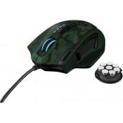 Mouse Gaming Trust GXT 155 (Verde Camuflaj)