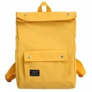 Multi-Zone Large Black Backpacks 17 Ltrs - School College Office Laptop 17 L Backpack(Yellow)