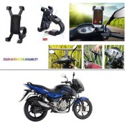 AutoStark Motorcycle Mount Cell Phone Holder/Installed to Motorcycle Rearview mirror Phone Mount For Bajaj Pulsar 150