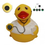 Rubber Ducks Family Temperature Dr. Rubber Duck, Waddlers Brand Children Safe Bath 4 Temperature Sen