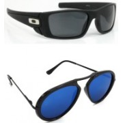 Hrinkar Sports Sunglasses(Black, Pink)