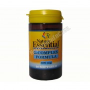 Nature Essential Vitamina b complex formula 500mg 30 cápsulas - nature essential - vitaminas y minerales