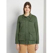 TOM TAILOR DENIM Utility Field Jacket, dull moss green, XL