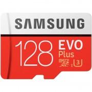 Samsung microSDXC 128 GB EVO Plus, 100 MB/s, Class 10, U3, mit SD-Adapter