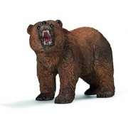 Schleich Grizzly Bear Toy Figure