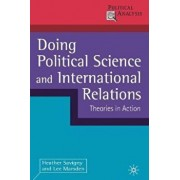 Doing Political Science and International Relations, Paperback/Heather Savigny