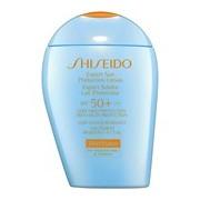 Wetforce expert sun protection loção proteção solar spf50 pele sensível 100ml - Shiseido
