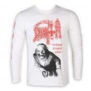 tričko pánské s dlouhým rukávem DEATH - SCREAM BLOODY GORE - PLASTIC HEAD - KU051