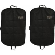 PRAHAN INTERNATIONAL Men's Coat Blazar Cover Bag Suit cover Pack of2 PIS-C2B026(Black)