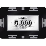 Nagy értékű póker zseton lap 5000