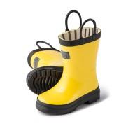 【29%OFF】バイカラー レインブーツ イエロー 8 ベビー用品 > 衣服~~その他