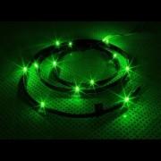 Cablu NZXT Sleeved LED Kit Green 12x LED 1m, CB-LED10-GR