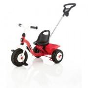 Kettler triciclo con asta guida per genitore - AIR BOY 0T03050-5020 - rosso
