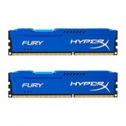 HyperX Fury HX316C10FK2/16 DD3-RAM Werkgeheugen 16 GB (1600MHz, CL10, 2x 8GB), blauw