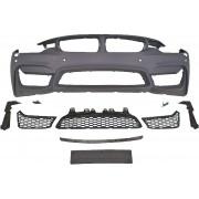 Paraurti anteriore TUNING look M4 BMW Serie4 F32 F33 F36 2013- per lavafari per sensori con griglie