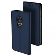 Dux Ducis Skin Pro Motorola Moto G7 Power Flip Case - Dark Blue