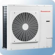 Immergas Audax Top 21 levegő-víz hőszivattyú 20/30,67kW, beépített tágulási tartállyal 8L