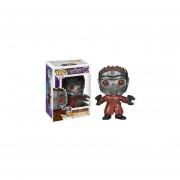 Funko Pop Star Lord Guardianes De La Galaxia Marvel Guardians Of The Galaxy-Rojo