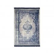 alfombra azul con flecos Marvel