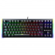 Newskill Serike TKL Teclado Mecânico Gaming Full RGB Switch Blue