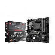 MB MSI B450M Bazooka V2, AM4, ATX, 4x DDR4, AMD B450, DVI-D, HDMI, 36mj (7A38-026R)