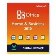 Microsoft Office 2010 Home and Business Digital Licence