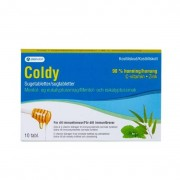 Orifarm, Coldy Coldy Sugtabletter Mentol & Eukalyptus 10st