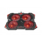 """Postolje za hladjenje laptopa 15.6 - 17.3"""" Genesis Oxid 250 4 ventilatora 2 USB"""