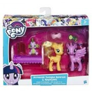 Jucarie Hasbro My Little Pony Princess Twilight Sparkle And Applejack Royal Friendships