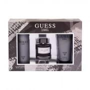 GUESS Guess 1981 confezione regalo eau de toilette 100 ml + doccia gel 200 ml + deodorante 226 ml uomo