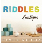 Riddles Boutique: Unique collection of beautifully designed logic riddles. Great for both kids & adults., Hardcover/Eran Cohen