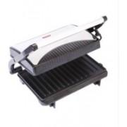 Pigeon Sandwich Griller Open Grill(Silver, Black)