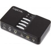 Soundkarte USB 7.1 LogiLink Soundbox 7.1