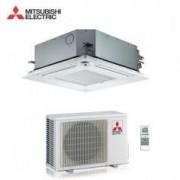 Mitsubishi CLIMATIZZATORE CONDIZIONATORE MITSUBISHI ELECTRIC INVERTER A CASSETTA SERIE SLZ-KF35VA2 A++ 12000 BTU