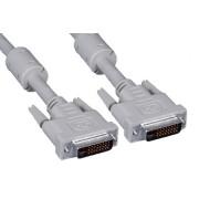 Cablu PC; DVI-I T la DVI-I T; 1.8m