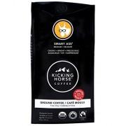 Kicking Horse Coffee Kicking Horse Caf, Kick Ass, Dark Roast, Ground, 10 Ounce