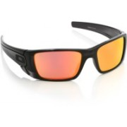 Oakley Round Sunglass(Orange, Red)