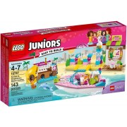 Lego Juniors 10747 - Friends: Vacanze Al Mare Con Andrea E Stephanie
