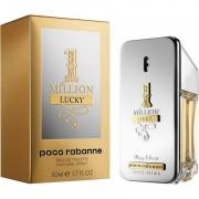 Paco rabanne 1 million lucky 50 ml eau de toilette edt profumo uomo