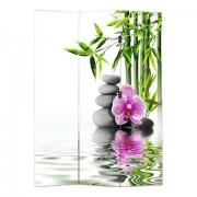 Paraván Lávakő-Orchidea
