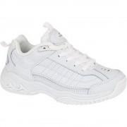 Mirak filles Contender lacets en cuir rembourré Sports Trainer blanc UK Size 1 (EU 33)