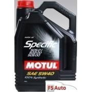 Ulei motor MOTUL Specific VW 505.01/502.00/505.00 5W40 5L