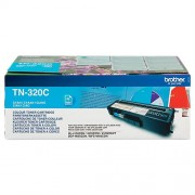 Brother Toner TN-320C D'origine Brother Cyan Cyan