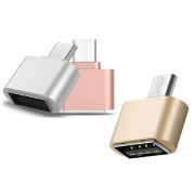 Smart Adaptor negru tip OTG din USB in USB Type C