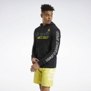 Reebok RC FEF Graphic Hoodie - Black - Size: Extra Small