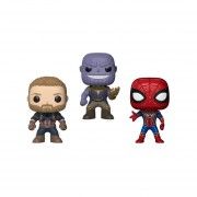 Thanos Capitan America Ironspider Funko Pop Avengers Infinity War